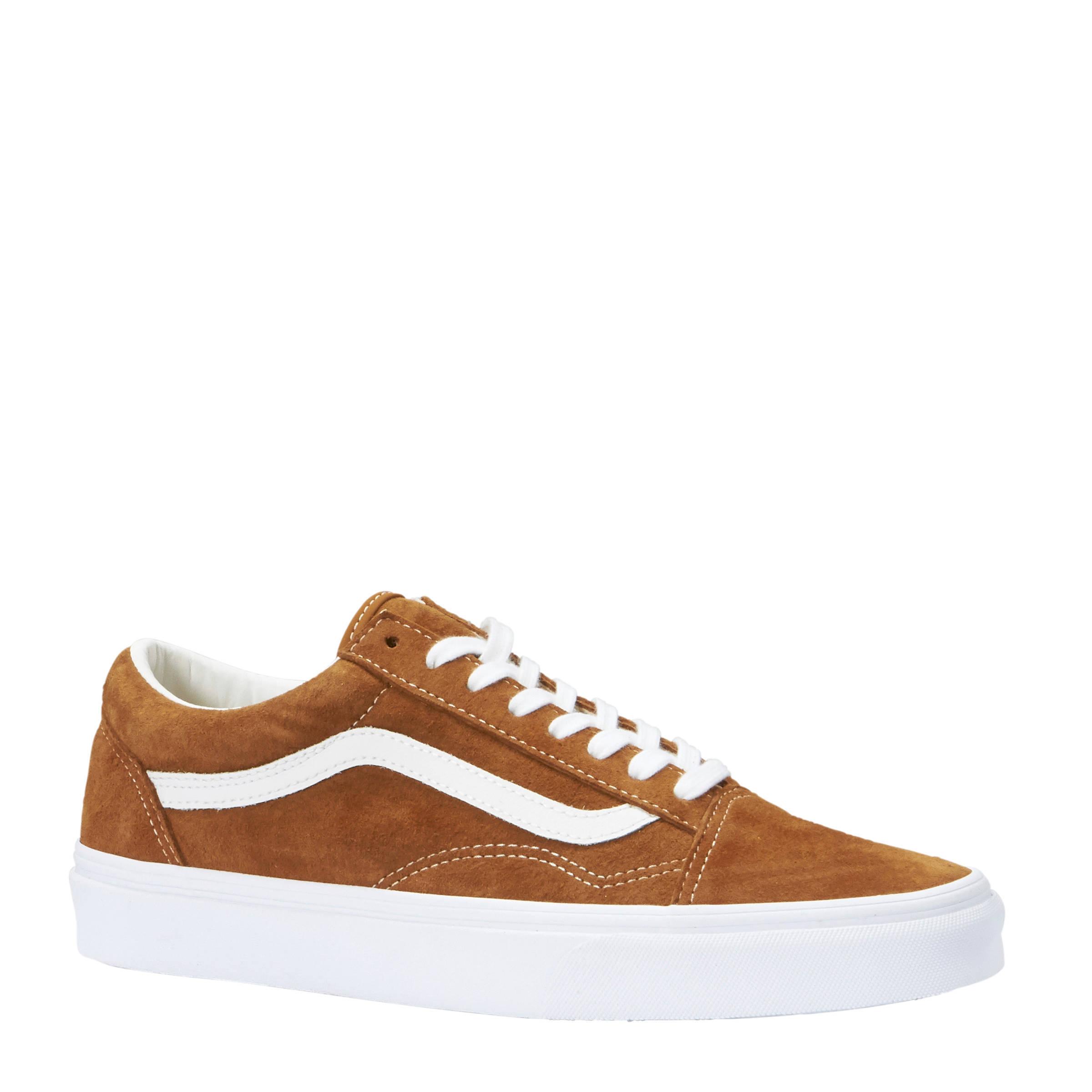 VANS Old Skool suède sneakers kakibruin   wehkamp