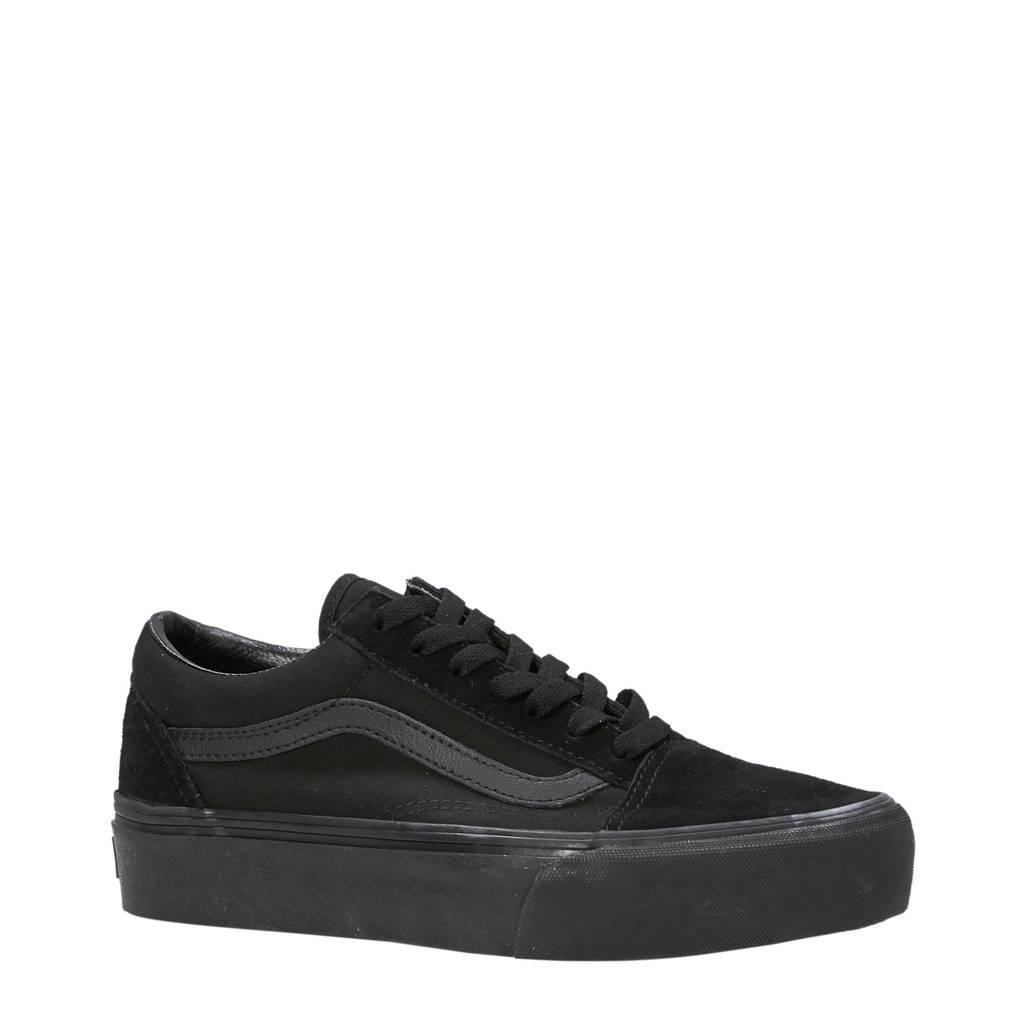 VANS   Old Skool Platform sneakers, Zwart