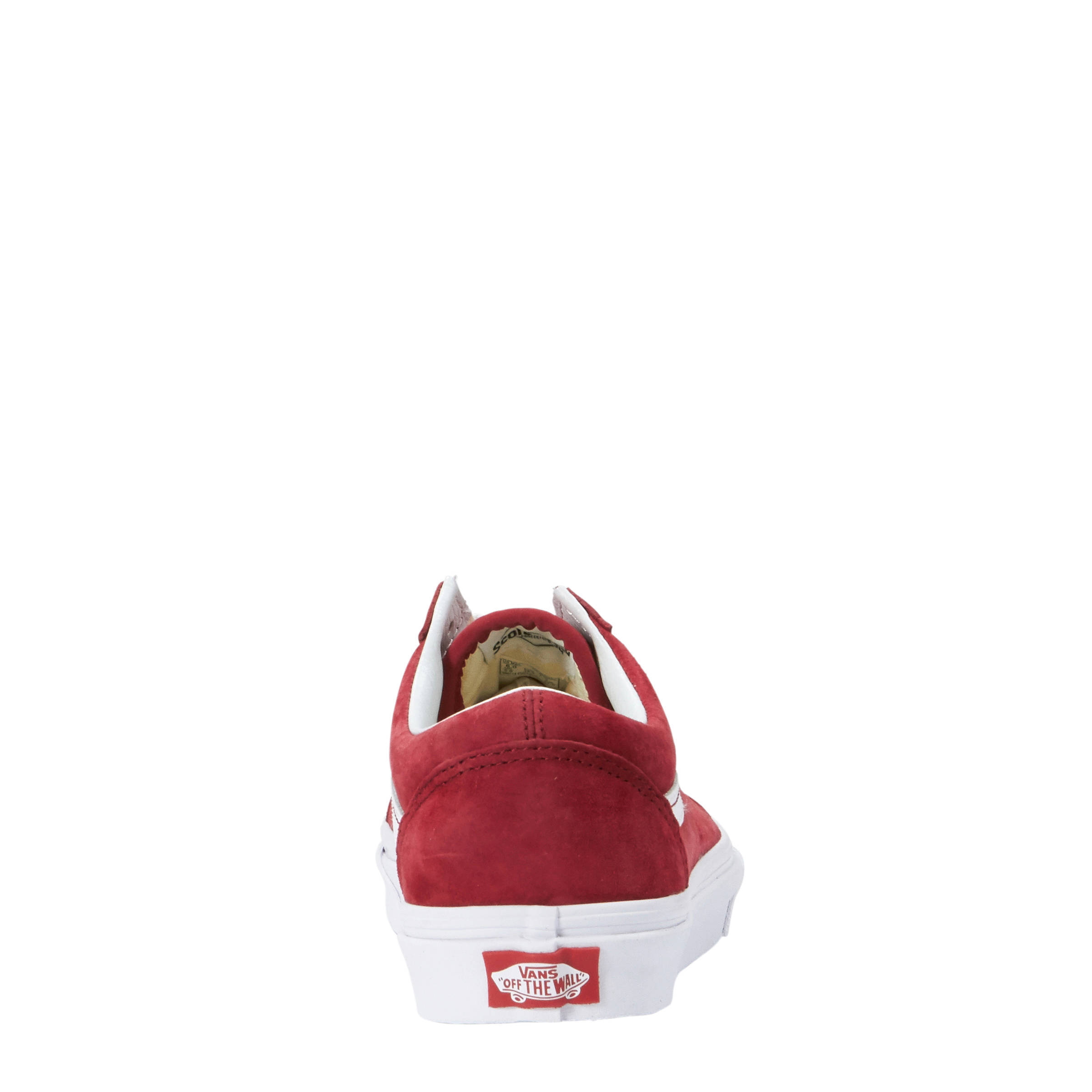 vans old skool rood dames