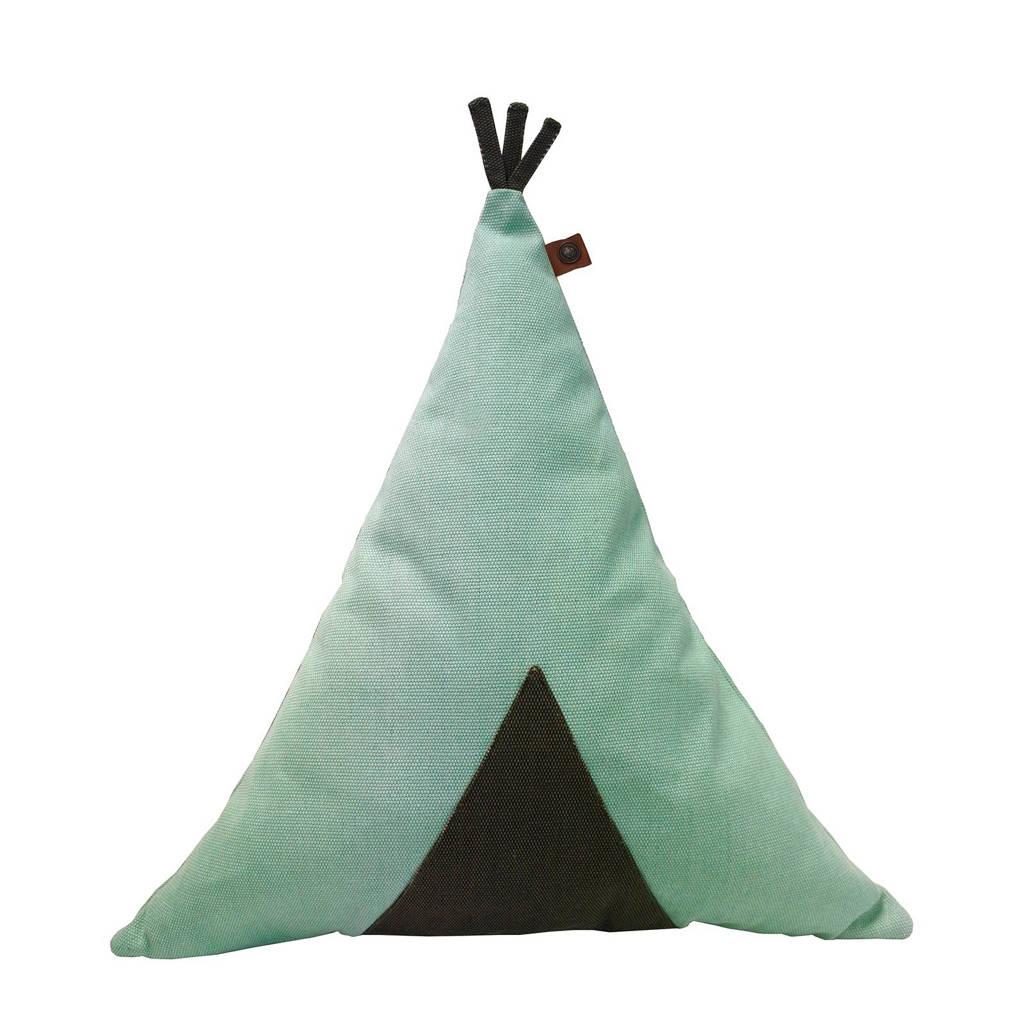 OVERSEAS Kidslife sierkussen (45x50 cm), IJsblauw