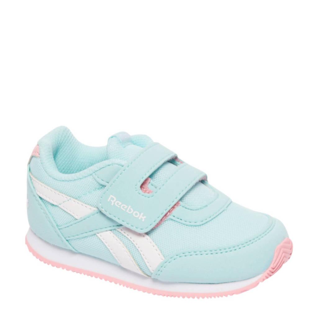 Reebok Royal CL sneakers, Lichtblauw/wit/roze