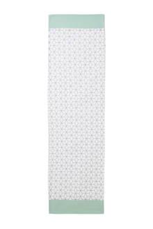 Home tafelloper met grafische print (40x145 cm)