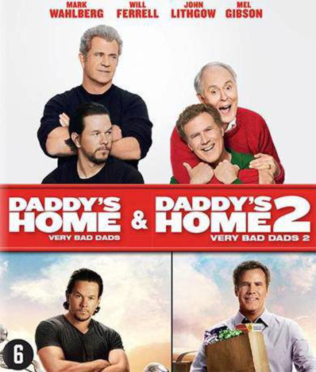 Daddy's home 1+2 (Blu-ray)