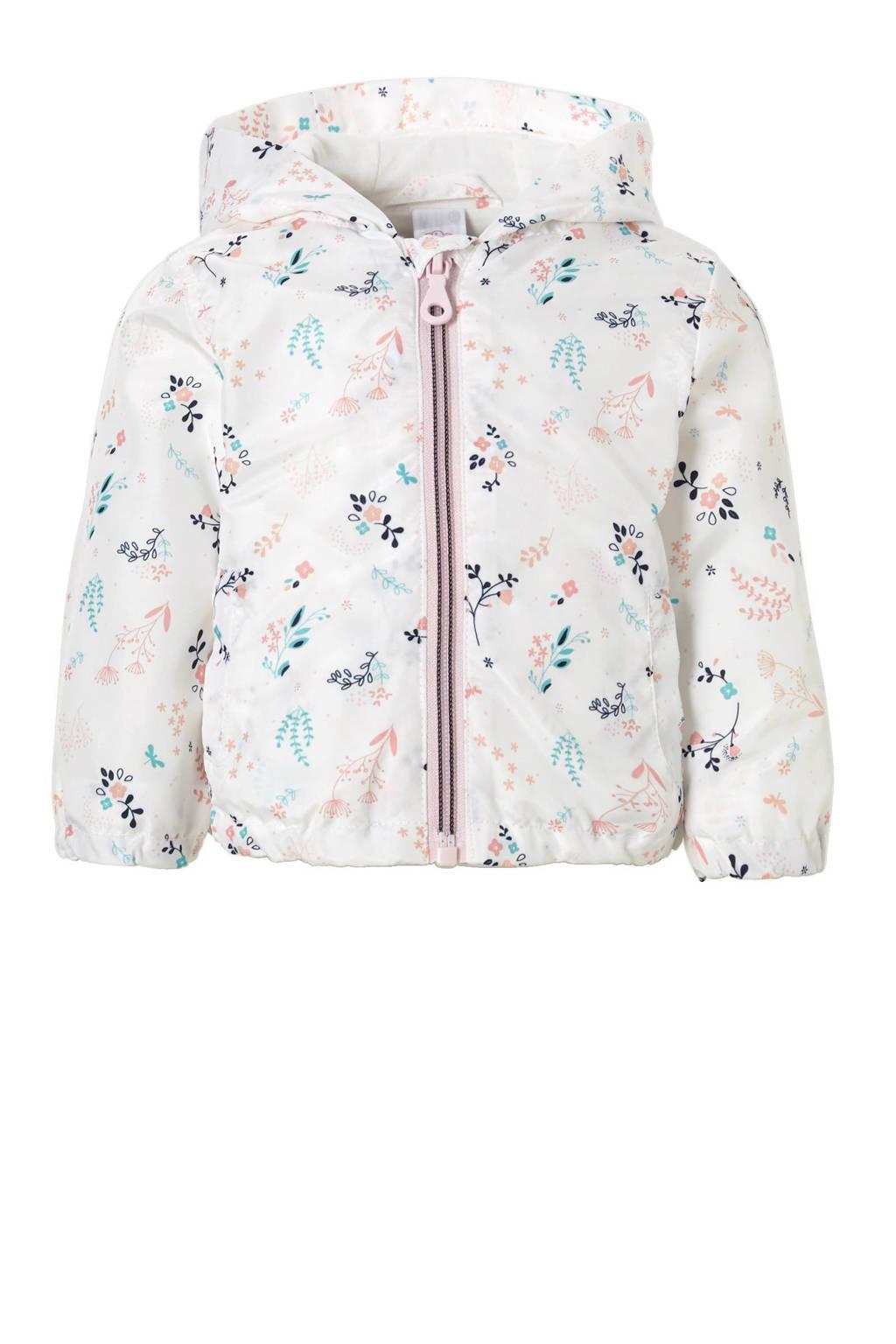 C&A Baby Club zomerjas met all over print, Wit/mintgroen/lichtroze