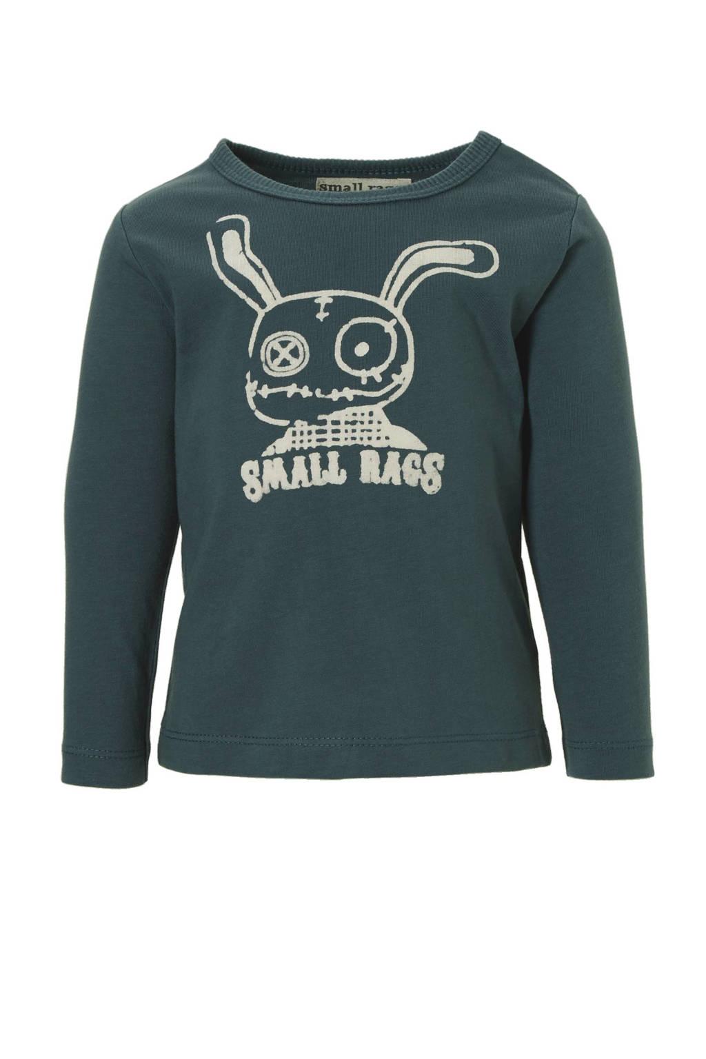 Small Rags T-shirt Hubert, Blauw