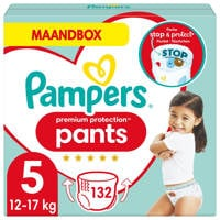Pampers Premium Protection Pants maandbox maat 5 (12kg-17 kg) 132 luierbroekjes, 5 (12-17 kg)
