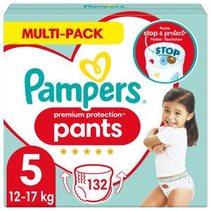 Pampers Premium Protection Pants Maandbox Maat 5 (12kg-17 kg) 132 Luierbroekjes