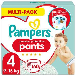 Pampers Premium Protection Pants Maandbox Maat 4 (9kg-15 kg) 160 Luierbroekjes