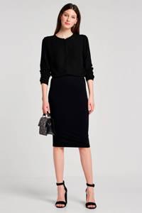 Modström Cyler blouse zwart, Zwart