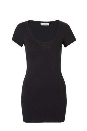 Trick basic T-shirt zwart