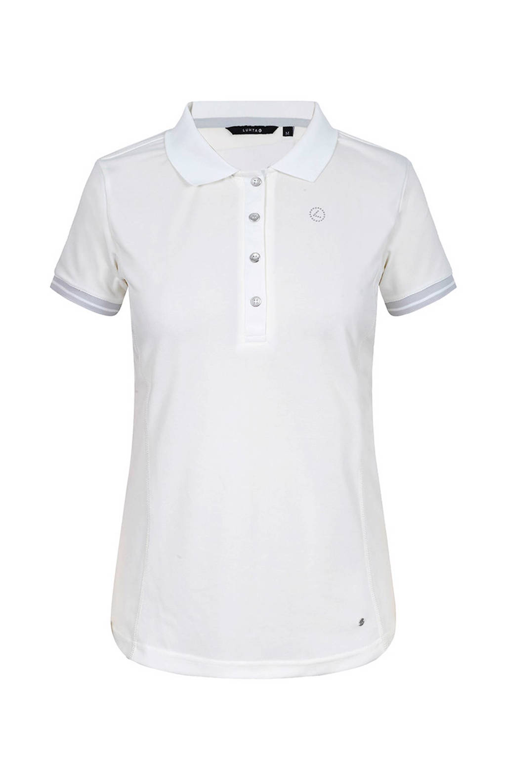 Luhta Aira outdoor polo wit, Creme