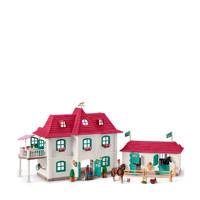 Schleich Horse Club groot huis met Paardenbox 42416