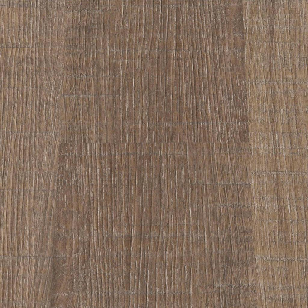 Flexxfloors Stick Deluxe kunststof vloer bruin eiken bezaagd, Bruin