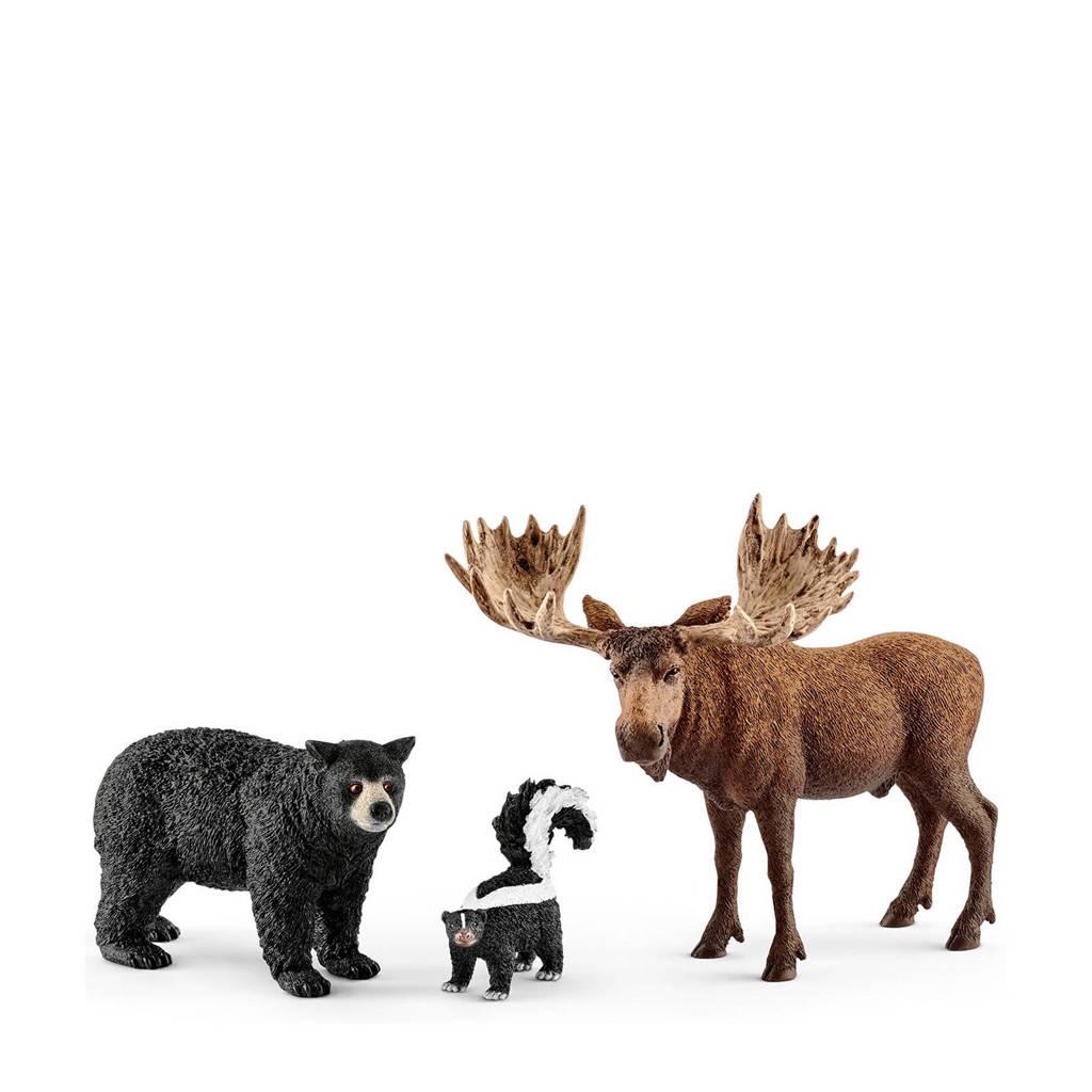 Wild Life noord-amerikaanse bosdieren 41456