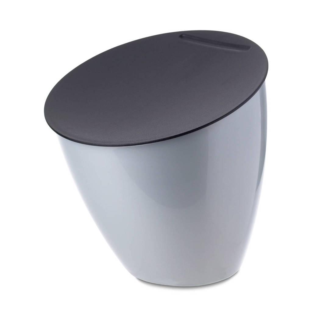 Mepal Calypso afvalbakje (2,2 l), Zilver