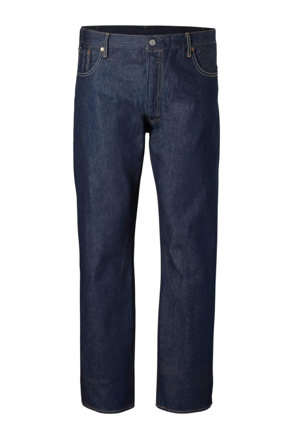 Levi's Big and Tall  straight 501 regular fit jeans, Clint Warp