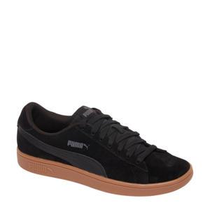 Smash suède sneakers zwart