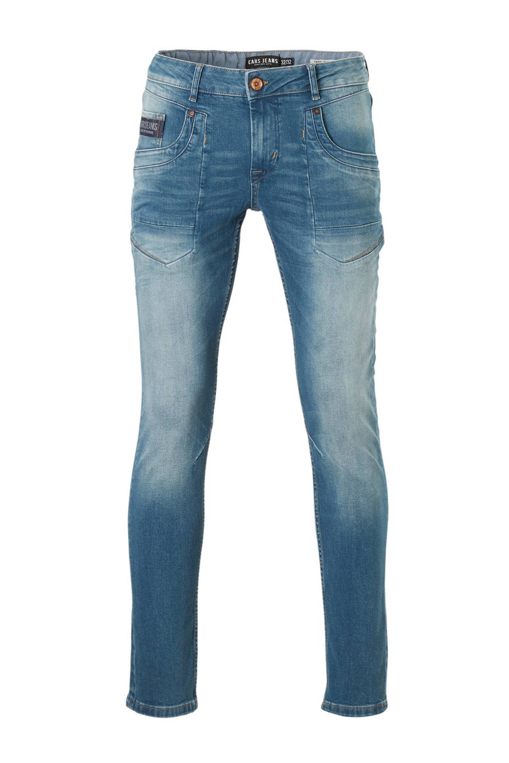 Cars slim fit jeans Stockton green cast used, Green Cast Used