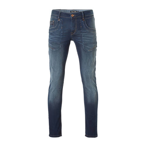 Cars slim fit jeans Stockton blue coated
