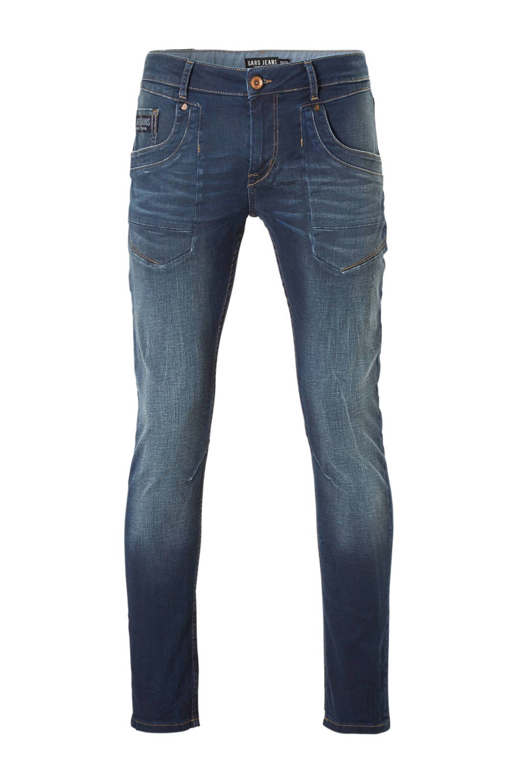 Cars slim fit jeans Stockton, Blue coated