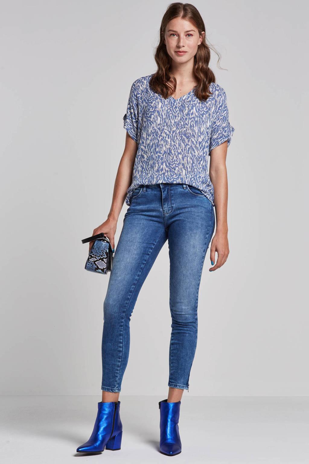 NOISY MAY skinny jeans blauw, Blauw