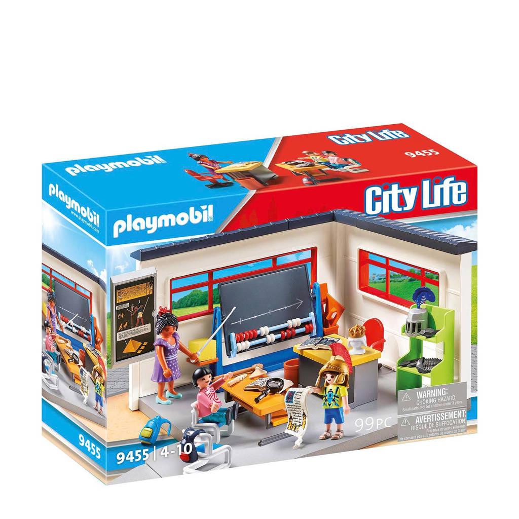 Playmobil City Life geschiedenislokaal 9455