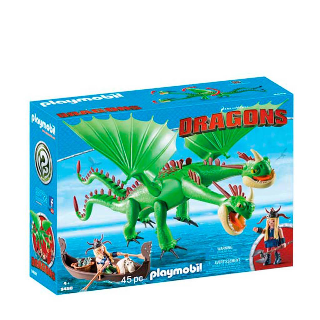 Playmobil Dragons Brokdol en Knoldol met Burp en Braak 9458