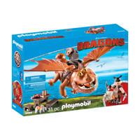 Playmobil Dragons Vissenpoot & Speknekje 9460