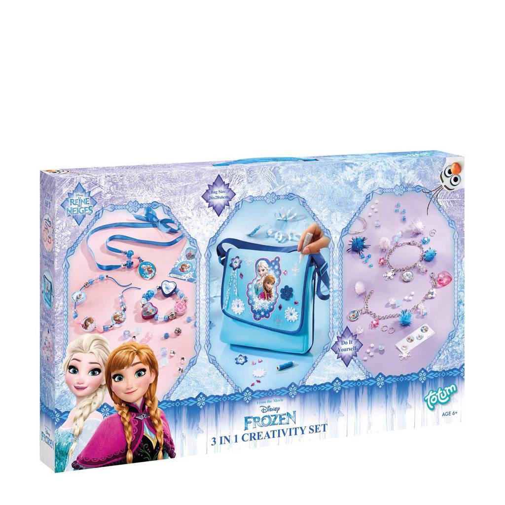 Totum Disney Frozen  3-in-1 creatieve set