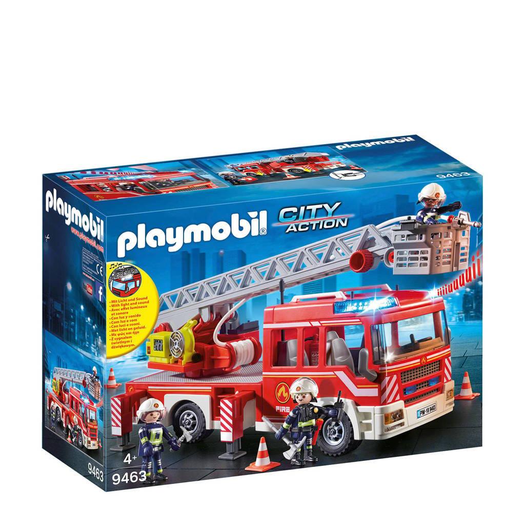 Playmobil City Action  brandweer ladderwagen