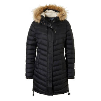149259af9e9 Superdry. Chevron Faux Fur Super Fuji jas