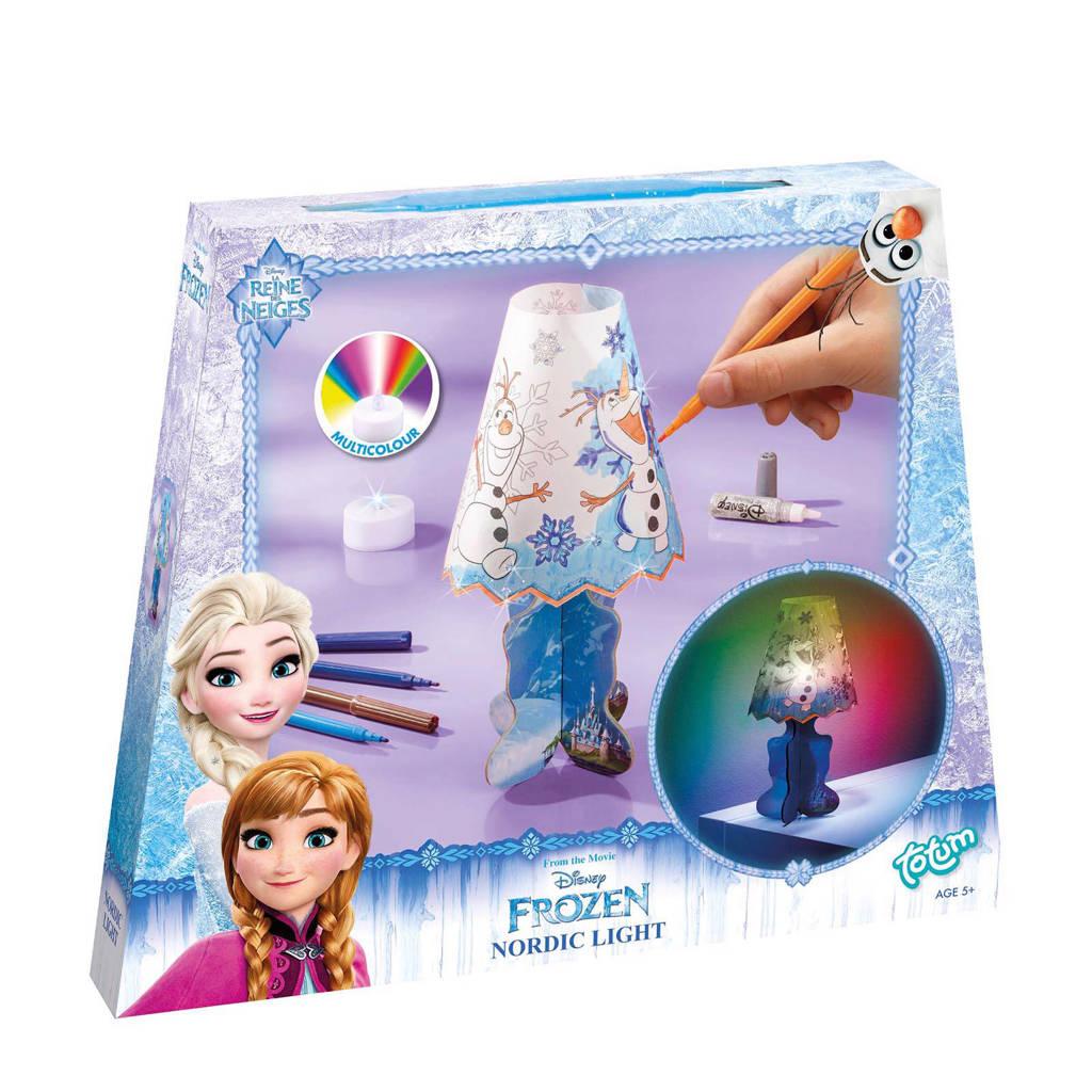 Totum Disney Frozen  eigen lamp maken