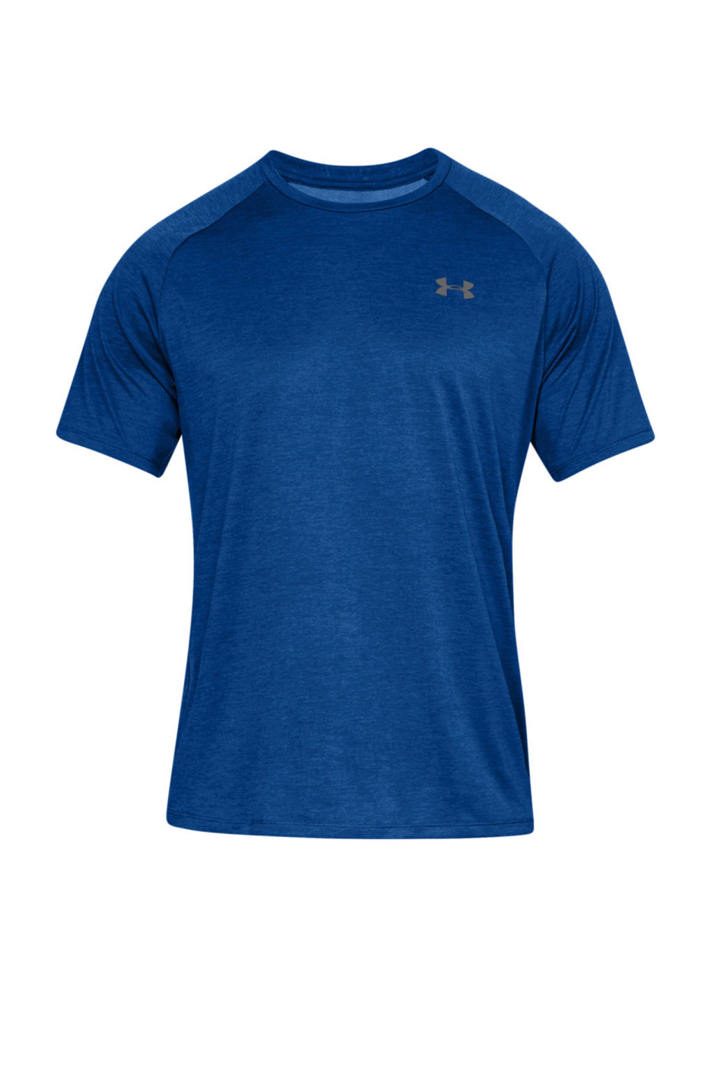Under Armour   sport T-shirt, blauw/ wit