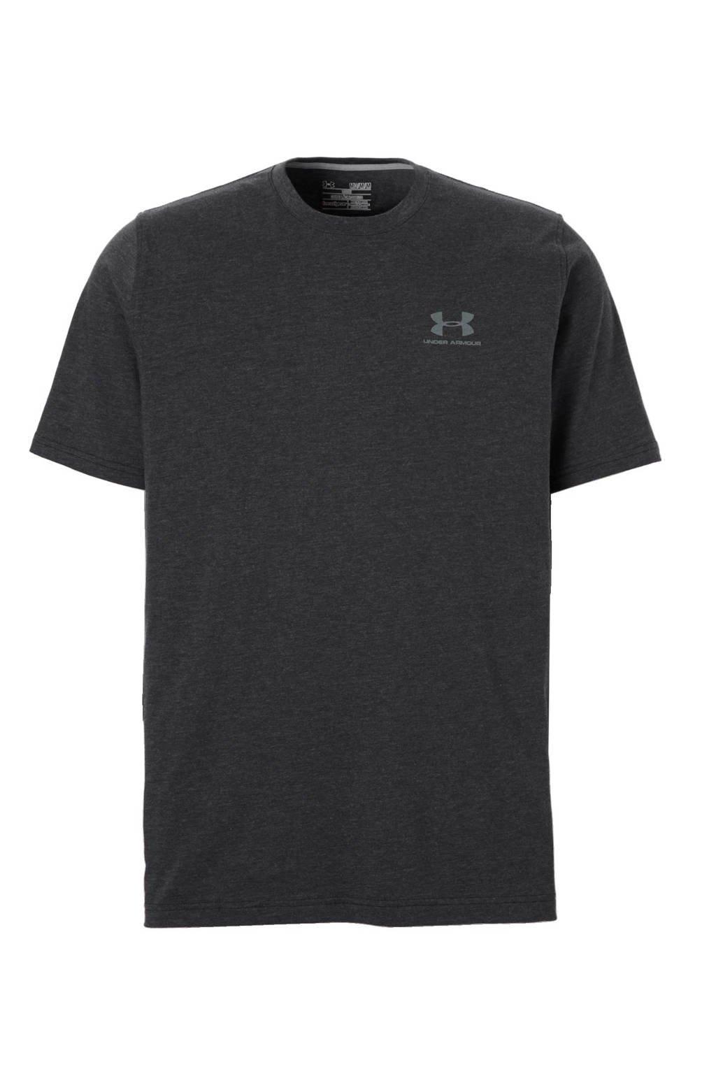 Under Armour   sport T-shirt, Antraciet