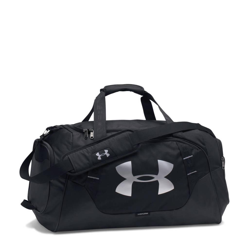 Under Armour   sporttas, zwart/ zilver