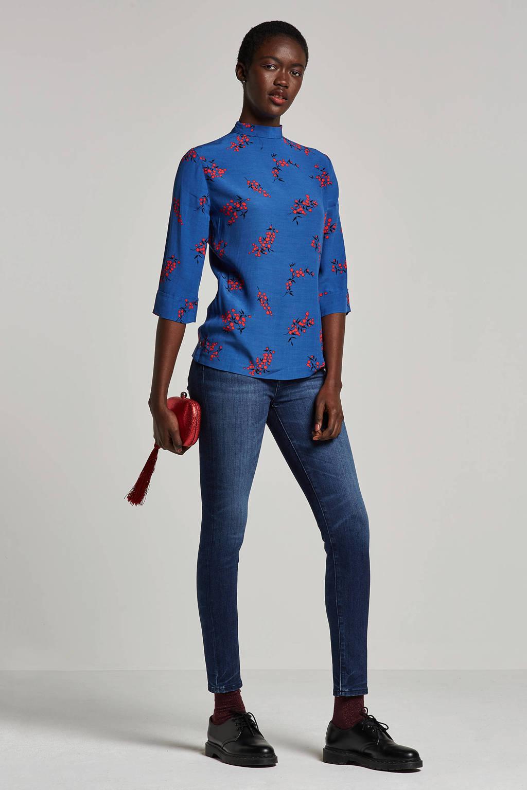 Fabienne Chapot Lidy top met bloemen print, Blauw
