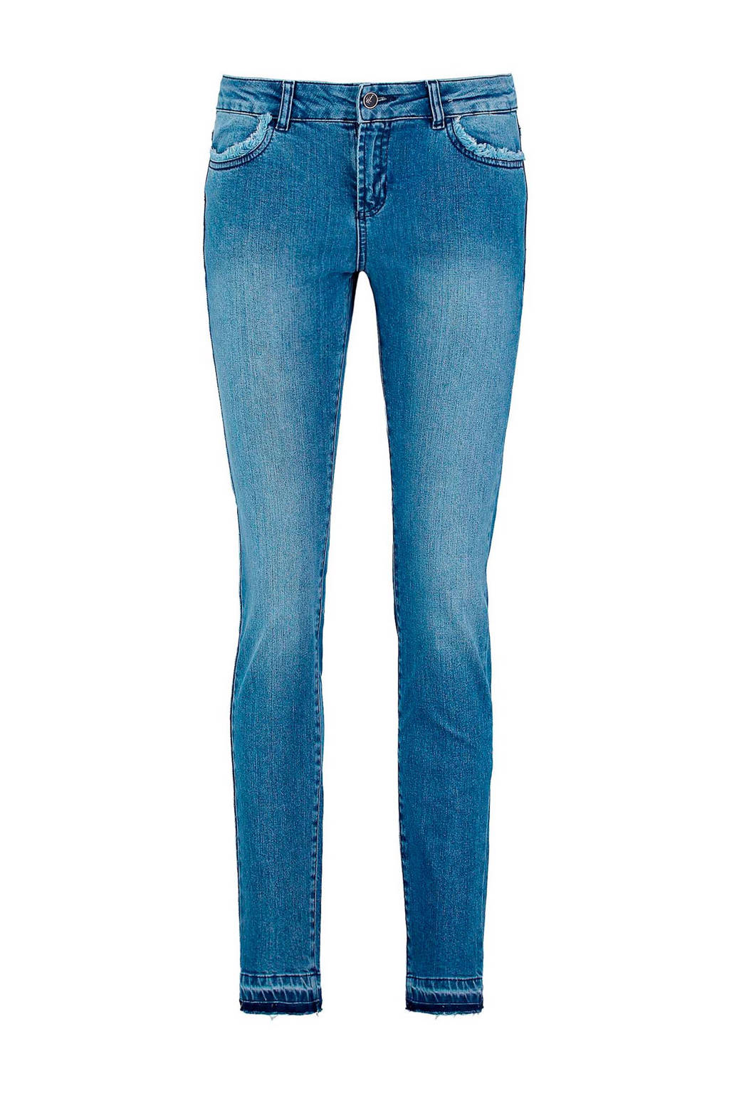 Claudia Sträter cropped skinny jeans, Stonewashed