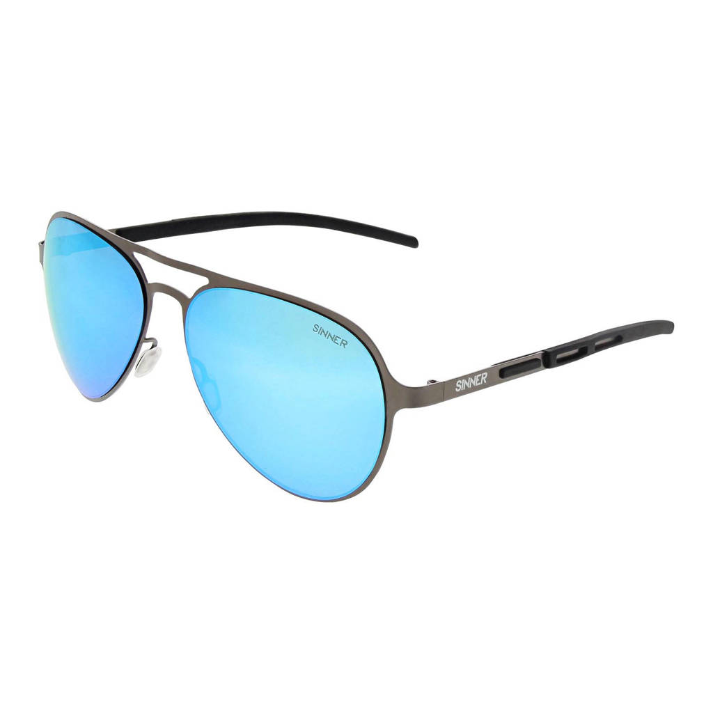 Sinner zonnebril Gabriel SISU-783-90-48, Zwart/grijs/blauw
