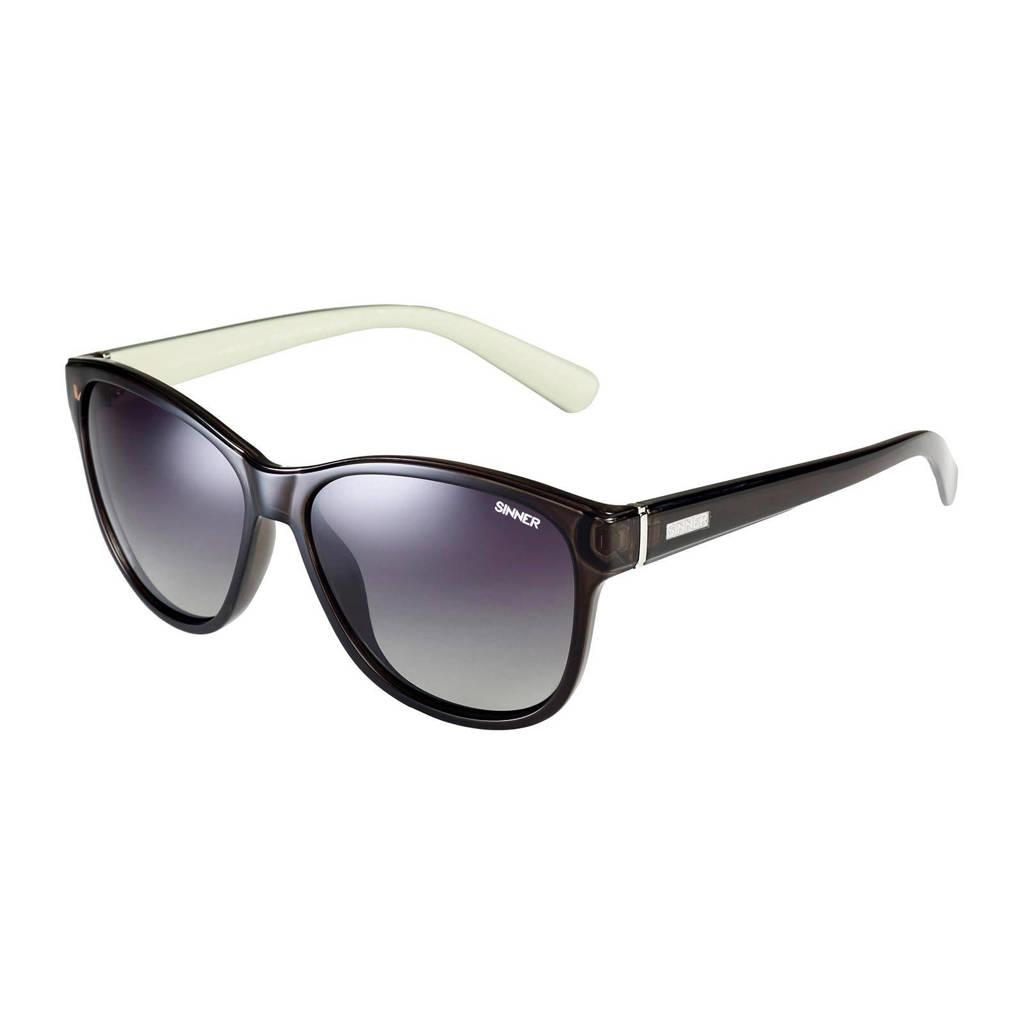 Sinner zonnebril Warner SISU-740-75-P20, Zwart/wit