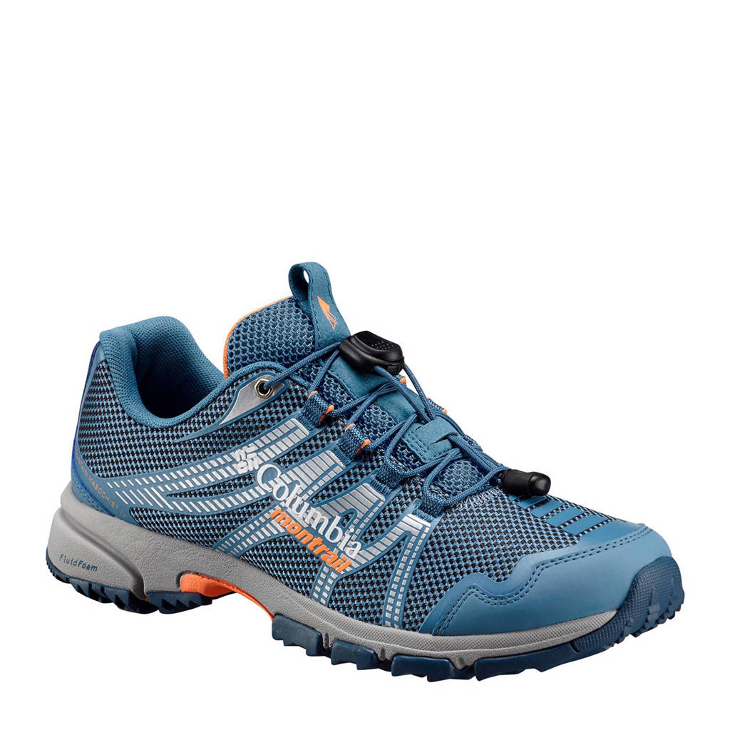 Columbia  Mountain Masochist wandelschoenen, Blauw/zilver