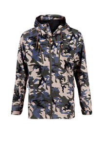 Life-Line outdoor softshell jack Colin camouflage (heren)