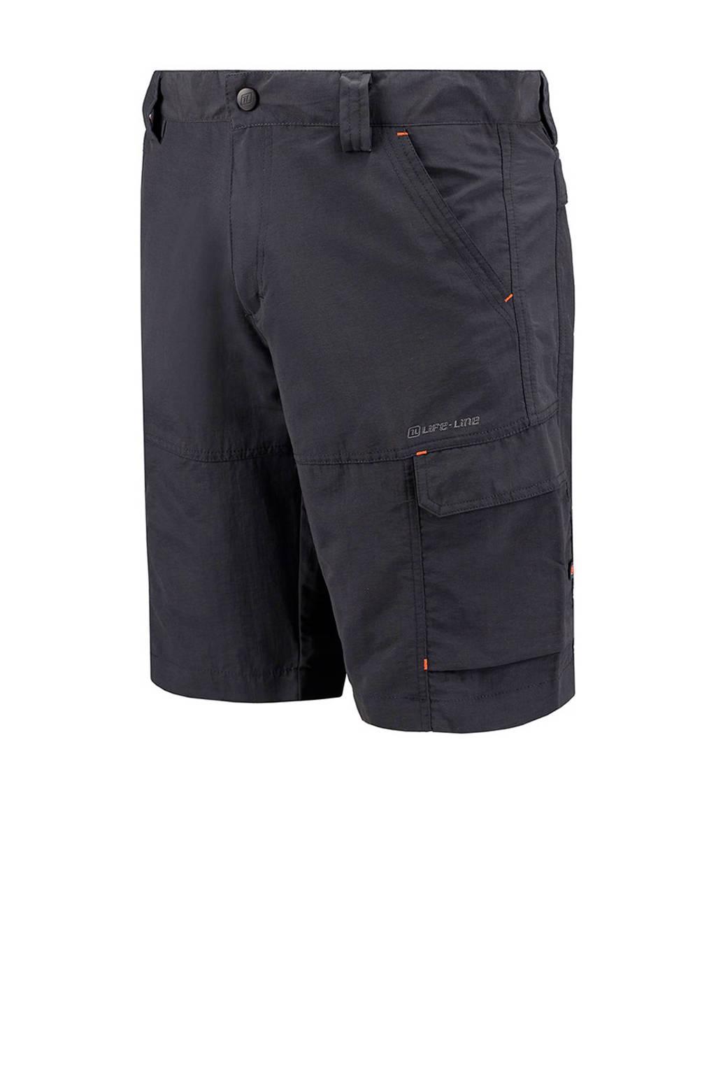 Life-Line korte outdoor broek Dibo antraciet, Antraciet