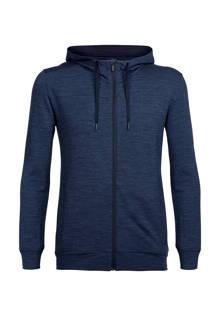 Shifter outdoor vest met merinowol donkerblauw
