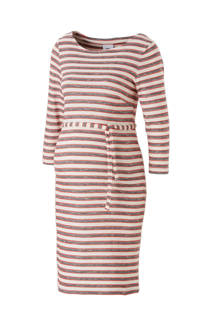 MAMA-LICIOUS positie jurk met streep dessin