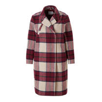 product afbeelding JUNAROSE coat met ruit dessin (dames)