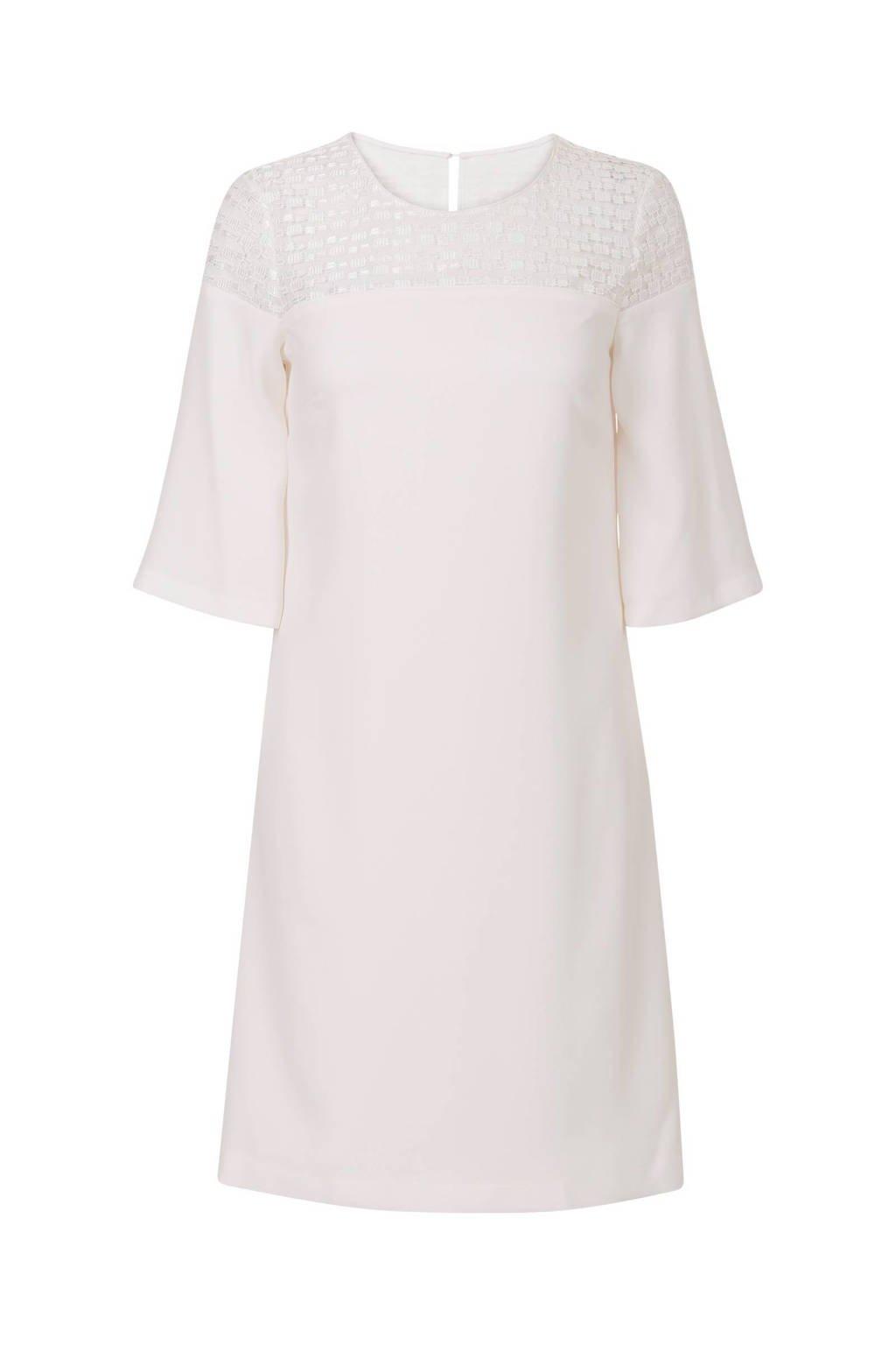 Promiss jurk gebroken wit, Gebroken wit