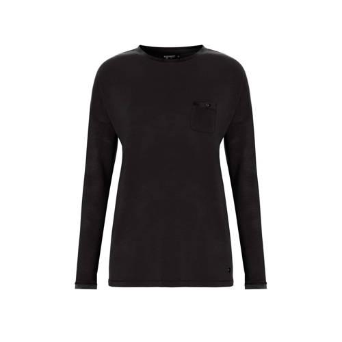 Pastunette Deluxe pyjamatop zwart
