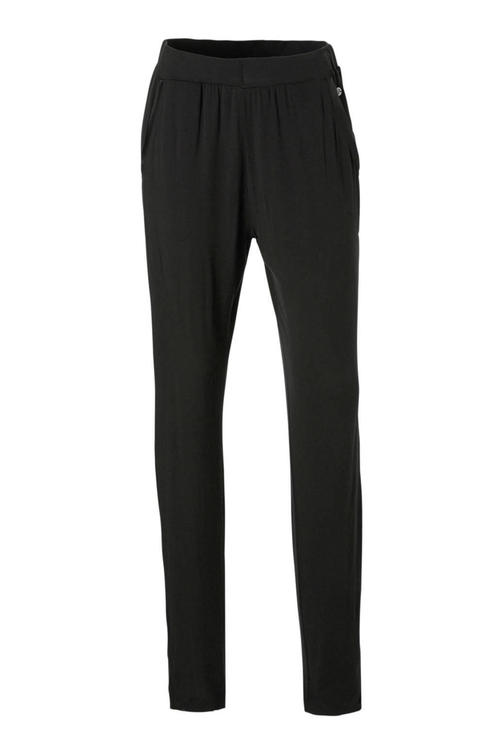 Pastunette Deluxe pyjamabroek met viscose zwart, Zwart
