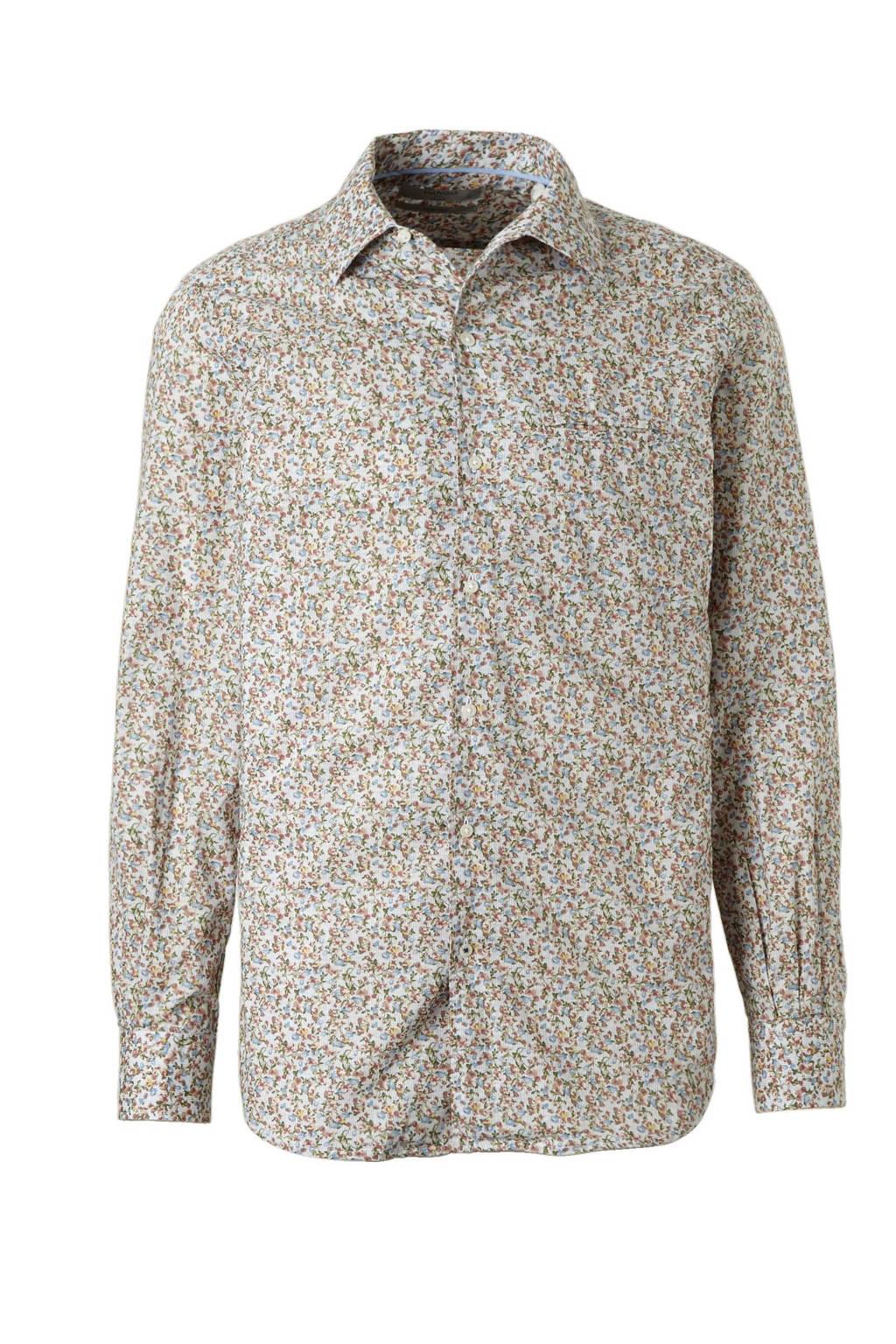 Gebloemd Overhemd.Mango Man Gebloemd Overhemd Wehkamp