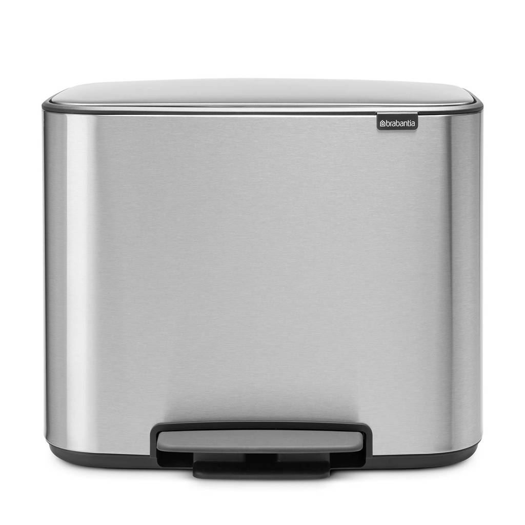 Brabantia Bo pedaalemmer,36 liter, matt steel fingerprint proof